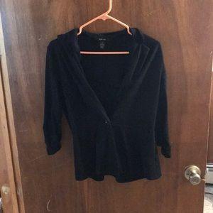 3/4 sleeve casual blazer